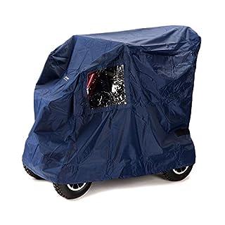 Ability Superstore - Wasserfeste Schutzplane Deluxe für Elektromobil/Scooter, dunkelblau