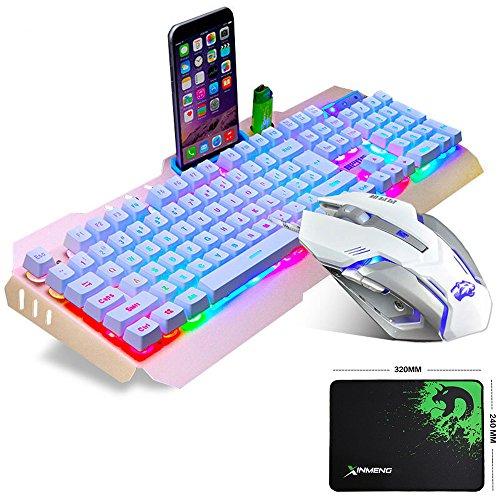 LexonElec Juego ratón teclado juego M398 cable 104