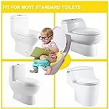 Faltbarer Toilettensitz Kinder Toilettentrainer, Gimars Reise WC Sitz Toilette Töpfchen für unterwegs (Gelb) Vergleich