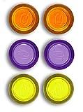 Rexel 1903790 Set di 6 magneti in colori assortiti per ufficio