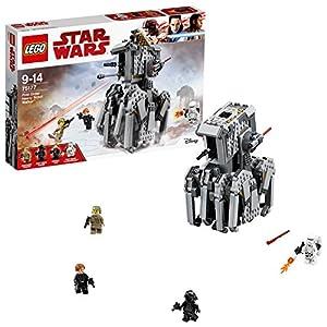 LEGO Star Wars - First Order Heavy Scout Walker, Juguete de Construcción de Vehículo de la Guerra de las Galaxias para Recrear las Aventuras de la Película (75177)