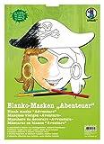 Ursus 17070099 - Masken Abenteuer, blanko, 6 Stück