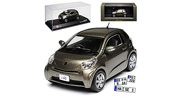 Toyota IQ Bronze Braun Metallic 2008-2014 1//43 Kyosho J-Collection Modell Auto m