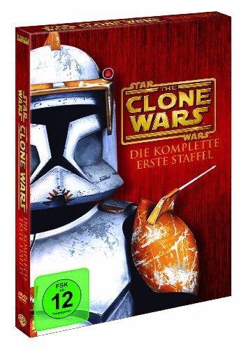 Bild von Star Wars: The Clone Wars - Die komplette erste Staffel (4 DVDs, Giftset)
