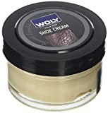 Woly Shoe Cream, Crema per Scarpe Unisex-Adulto, Beige (Biscuit), 50.00 ml