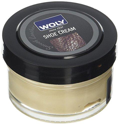 Woly Woly Shoe Cream, Betún Zapatos, Beige (Biscuit), 50 ml