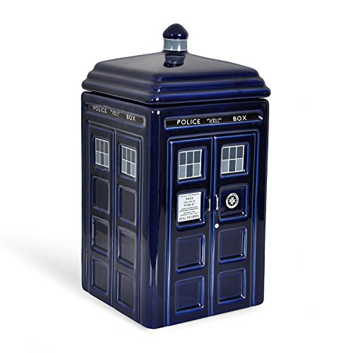 Doctor Who Tardis ceramica Cookie (Jar Kitchen Decor)