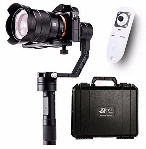 Preisvergleich Produktbild Zhiyun Crane 3 Achsen Handstabilisator 3 Achsen Gimbal für DSLR Canon Kameras Unterstützung 1.8KG mit einem Bluetooth Wireless Remote Controller