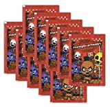 Just Toys - Five Nights at Freddy's - Sammelsticker - 10 Booster Tüten 60 Sticker