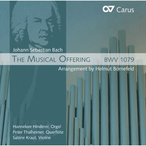 Musical Offering, BWV 1079 (arr. H. Bornefeld for flute, violin and organ): XVI. Ricercar a 6