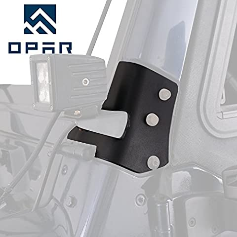 Opar Windshield Mounting Brackets for 1997-2006 Jeep Wrangler TJ -Pair