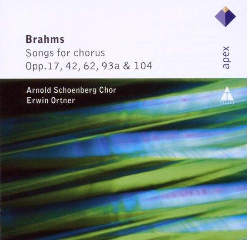 Brahms : Mélodies pour choeur Op.17, 42, 62, 93a, 104