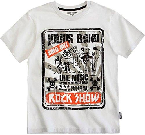 Paul Frank Jungen T-Shirt Weiß light white (T-shirts Von Paul Frank)