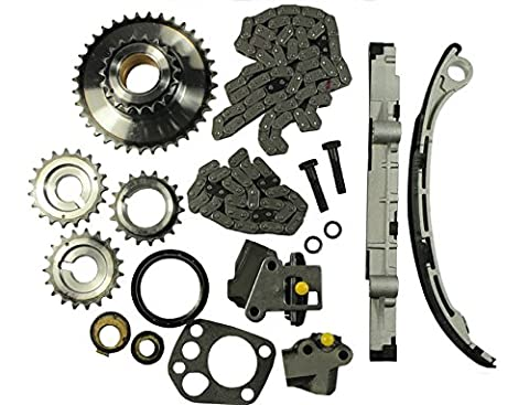 GOWE Engine Timing Chain Kit Fit For 1998-2004 Nissan 2.4L Altima Frontier Xterra KA24DE