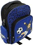 Cuore Neroazzurro XM-089-04 Zaino 31cm, tempo libero, scuola, 4 tasche