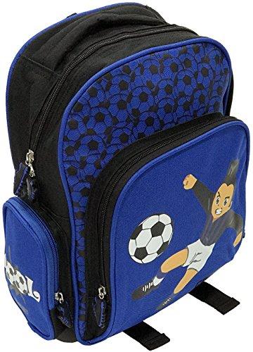 c26e213f8c Cuore Neroazzurro XM-089-04 Zaino 31cm, tempo libero, scuola, 4