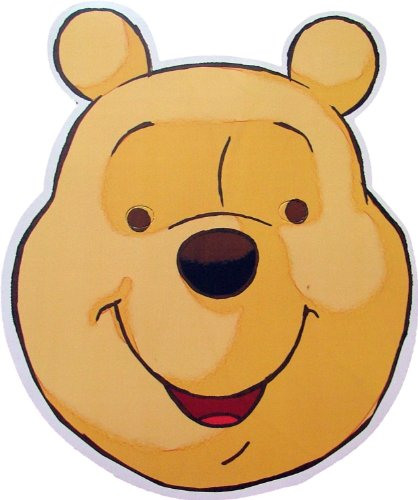 Disney's - Winnie The Pooh - Card Face Mask