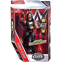 WWE Elite Series 45 Action Figure - Roman Reigns W/ WWE Championship Belt by Wrestling