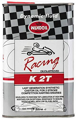 Wladoil Olio Kart K 2T Cik FIA Approved Racing Karting ricinato Alte Prestazioni Pista Gara profesionale Latta Competizio