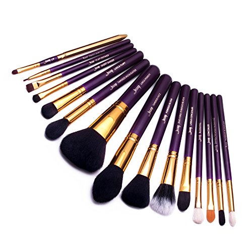 Jessup 15 pcs Pro Make-up-Pinsel Make-up Pinsel Set Schönheit Cosmetics Puder Foundation...