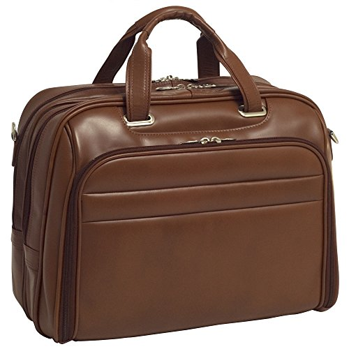 mcklein-springfield-86594-brown-leather-fly-through-checkpoint-friendly-17-laptop-case