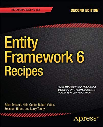 Entity Framework 6 Recipes by Zeeshan Hirani (2013-10-29)