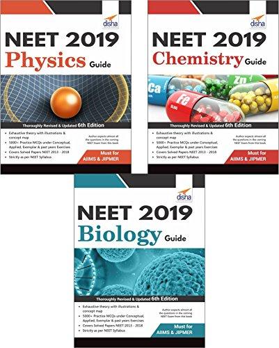 Crack NEET 2019 Physics/Chemistry/Biology (Set of 3 Books)