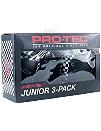 Pro Tec Pads Set Street Gear Checker 3 Pack Junior Youth