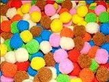 #10: Anshartandcraft EVA Pom Pom Boll Multi Color (Big 50 Pcs Pkt)