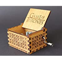 Vowmix Game of Thrones Hand Cranked Collectable Music Box (Multicolor)