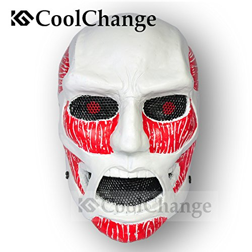 CoolChange Attack on Titan GFK Titanen Maske