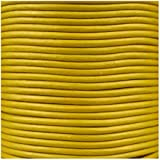 Jewellery of Lords 5 meters of Yellow 2mm High Quality Round Cord Real Leather String Lace Thong Jewellery Making
