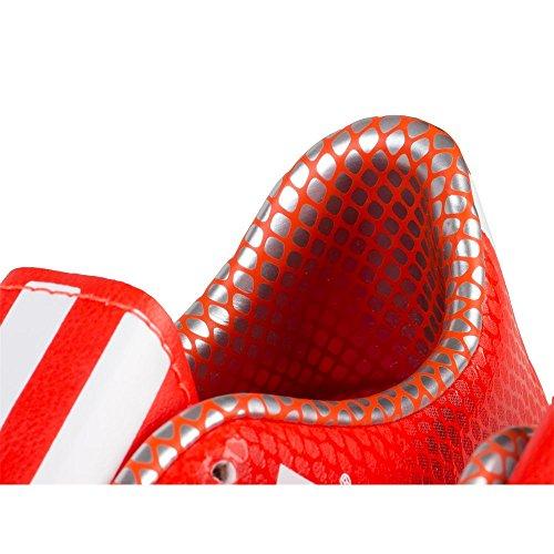 adidas , Chaussures pour homme spécial foot en salle Noir-Orange-Rouge