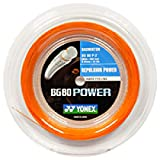 Power Yonex BG-80 200 m Rolle orange Badminton Schläger Saite Wow - All-In-One-Outlet-24 -