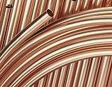 Buderus Kupferrohr 15 x 1,0 mm weich in Ringen 50 Meter blank