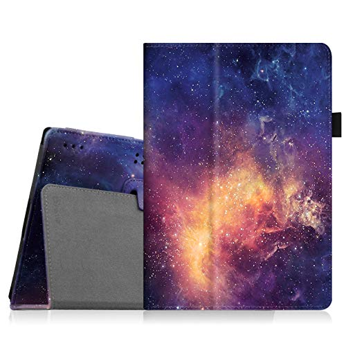 Fintie Hülle Case für Lenovo Tab 10 / TAB2 A10-30 - Folio Kunstleder Schutzhülle Tasche Etui mit Auto Schlaf/Wach Funktion für Lenovo Tab 3 10 Plus/Tab 3 10 Business 10,1 Zoll Tablet,Die Galaxie
