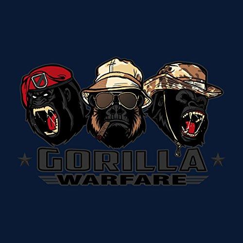Gorilla Warfare Men's Vest Navy Blue