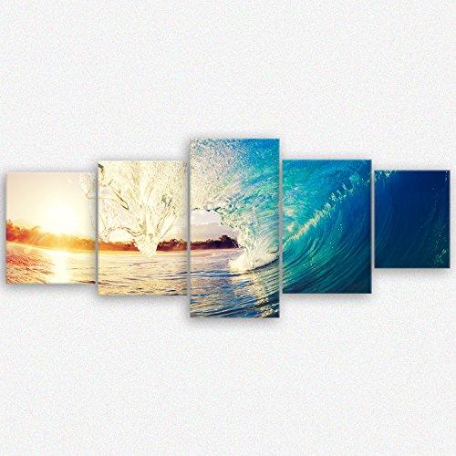 ge-Bildet® hochwertiges Leinwandbild XXL Naturbilder Landschaftsbilder