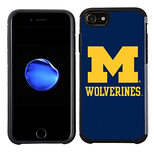 Prime Brands Group iPhone 8/iPhone 7/iPhone/6S/iPhone 6 - Handy Fall - (NCAA Lizenzprodukt Universität von Michigan Wolverines)
