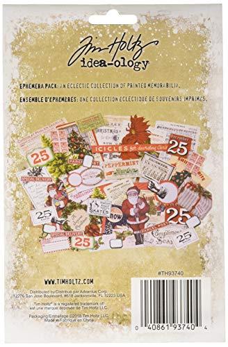 Tim Holtz TH93740 Idea-Ology Weihnachts-Ephemera Pack -