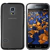 mumbi Schutzhülle Samsung Galaxy S5 Mini Hülle transparent schwarz