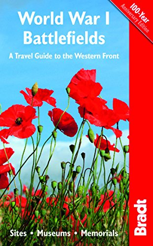 World War I Battlefields: A Travel Guide to the Western Front Cover Image