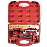 Festnight Motor-Einstellwerkzeug Motorreparatur Nockenwellen Steuerzeiten Werkzeugkasten für BMW N42 N46 N46T B18/-A B20/-A/-B