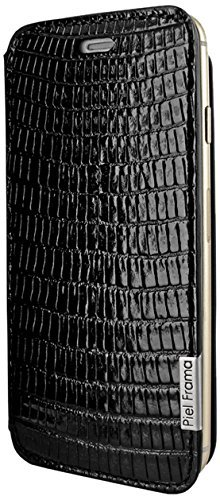 Piel Frama 686SWN Swaro Etui rigide pour iPhone 6 Plus Orange Negro (Lizard black)