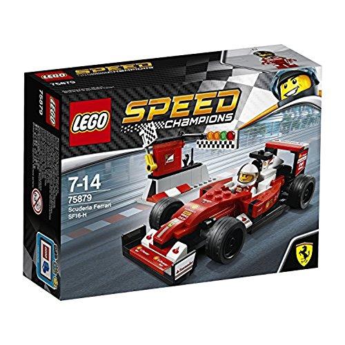 LEGO – 75879 – Speed Champions –  Jeu de Construction – Scuderia Ferrari SF16-H