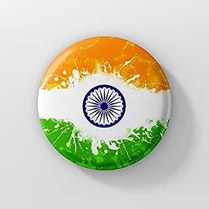Compagno Somma di denaro sarcoma  Buy LASTWAVE Indian Flag Badge | India Flag Independence Day Badge ...