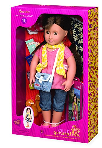our-generation-reese-doll-with-book-18-inch-46cms
