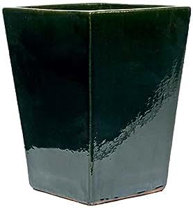 TerraDura Pflanzgefäß, grün, 38x38x53 cm
