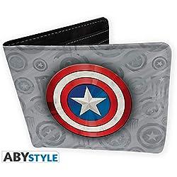 Billetera Capitán América, El primer Vengador. Los Vengadores. Marvel