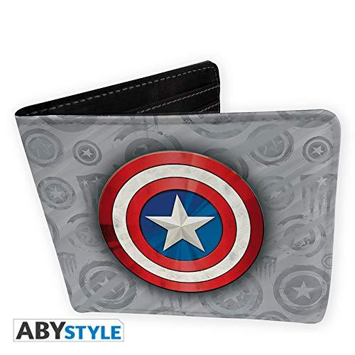 el - Geldbörse Captain America Vinyle ()